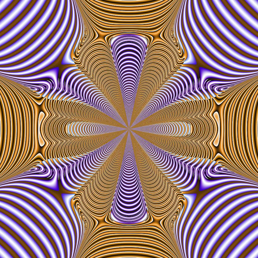 Abstract Digital Art - Verballahs by Andrew Kotlinski