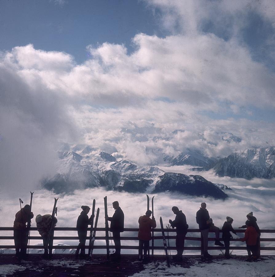 Verbier View Photograph by Slim Aarons