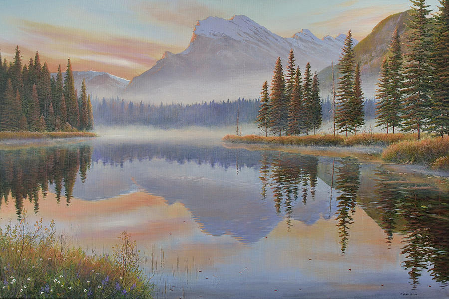 Vermillion Sunrise by Jake Vandenbrink