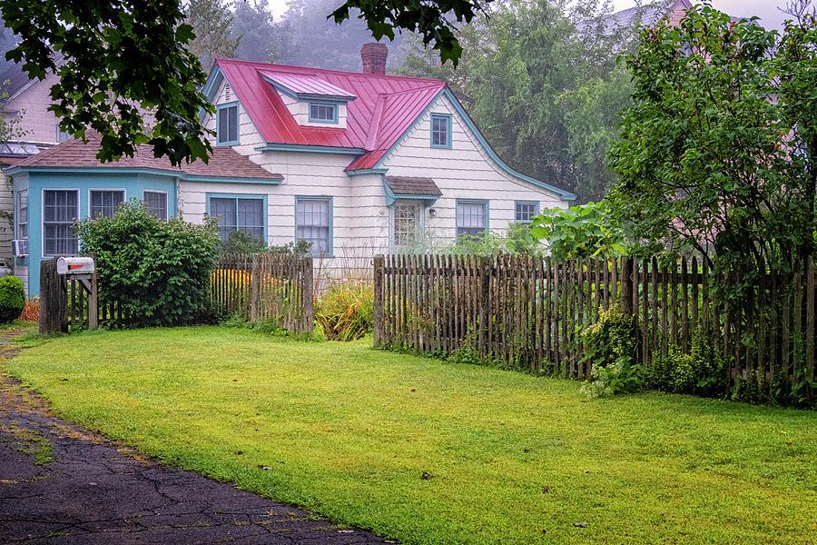 Vermont Cottage by Tom Singleton