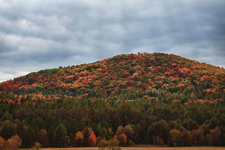 Vermont hill in fall colors by Jeff Foliage Folger