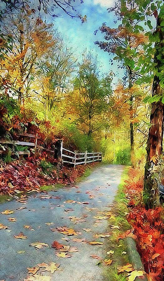 Vermont, Landscape - 09 by Andrea Mazzocchetti