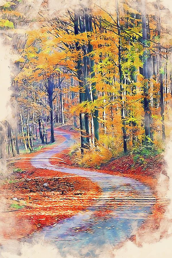 Vermont, Landscape - 11 by Andrea Mazzocchetti