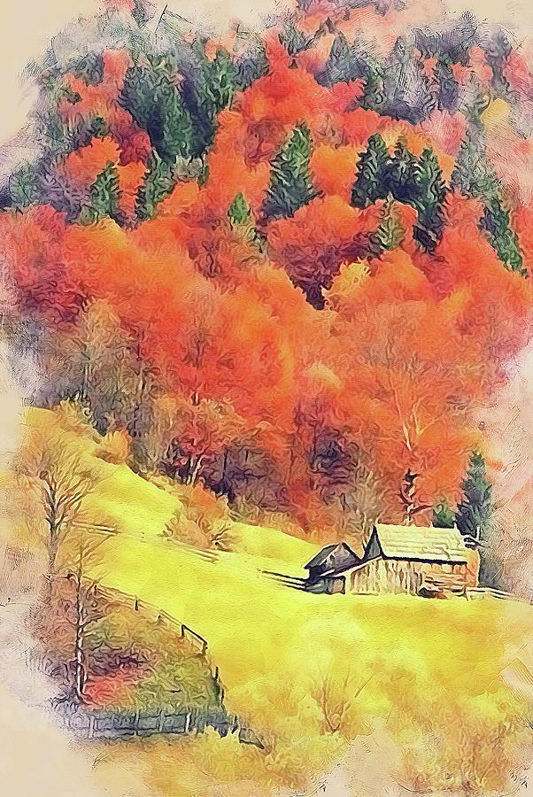 Vermont, Landscape - 13 by Andrea Mazzocchetti