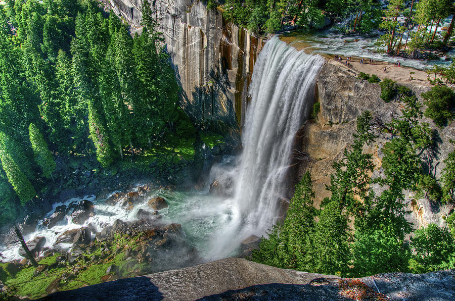 Vernal Falls Photograph by Aaron Meyers