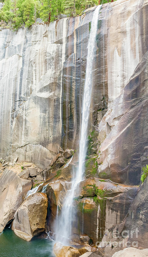 Vernal waterfall in Yosemite National Park in California, USA by Marek Poplawski