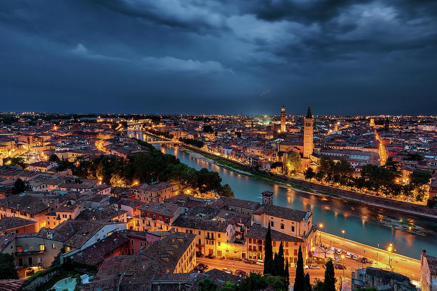 Verona Photograph - Verona  by Andrei Dima