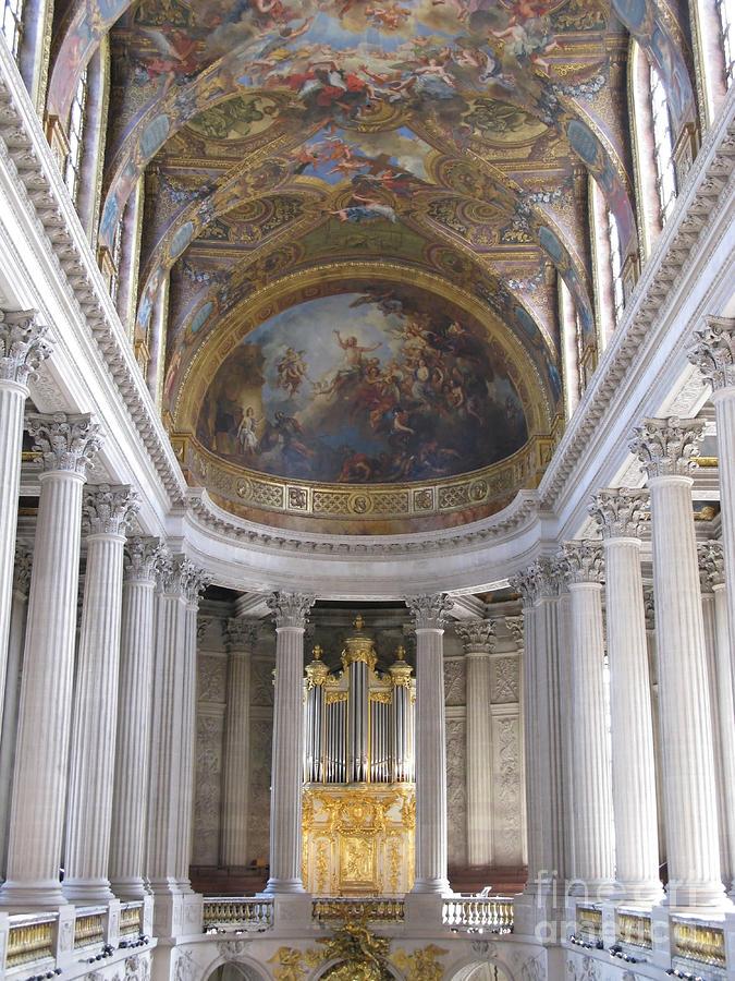 Versailles Chapel Organ Photograph