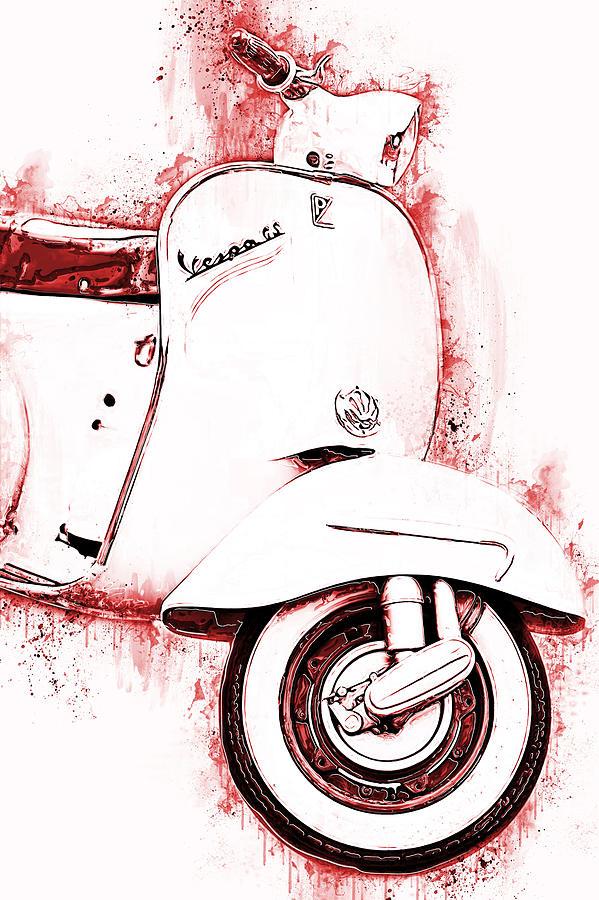 Vespa Scooter - 14 by Andrea Mazzocchetti