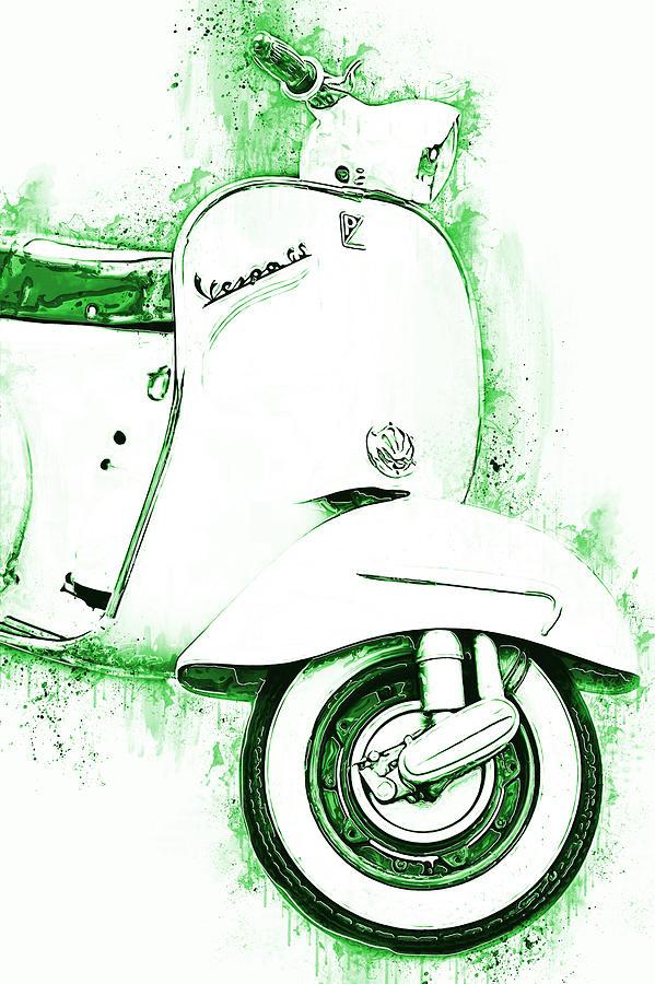 Vespa Scooter - 15 by Andrea Mazzocchetti