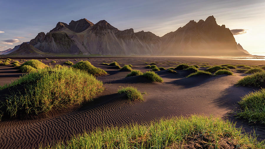 Vestrahorn Sunrise Iceland by Pierre Leclerc Photography
