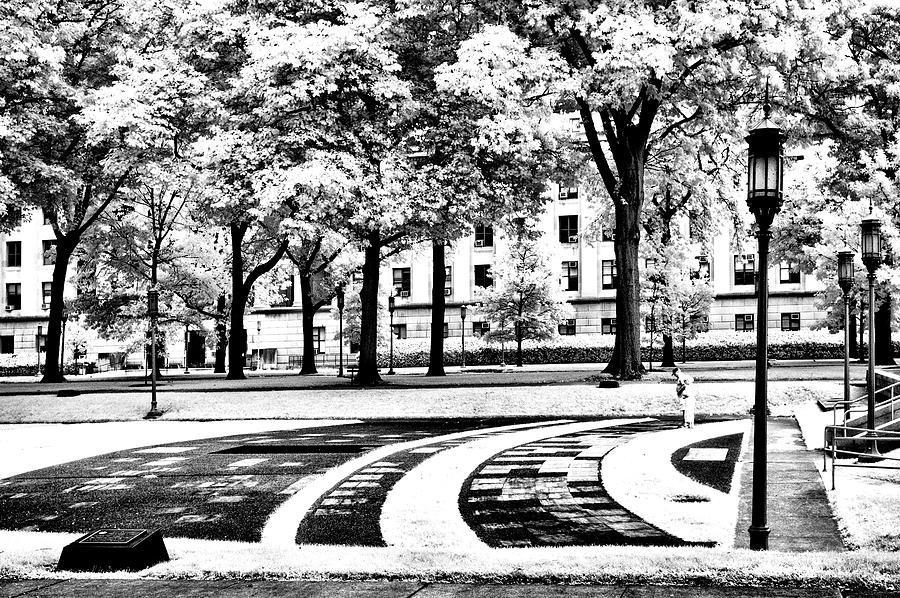 Veterans Photograph - Veterans Park At Pa Capital by Paul W Faust - Impressions of Light