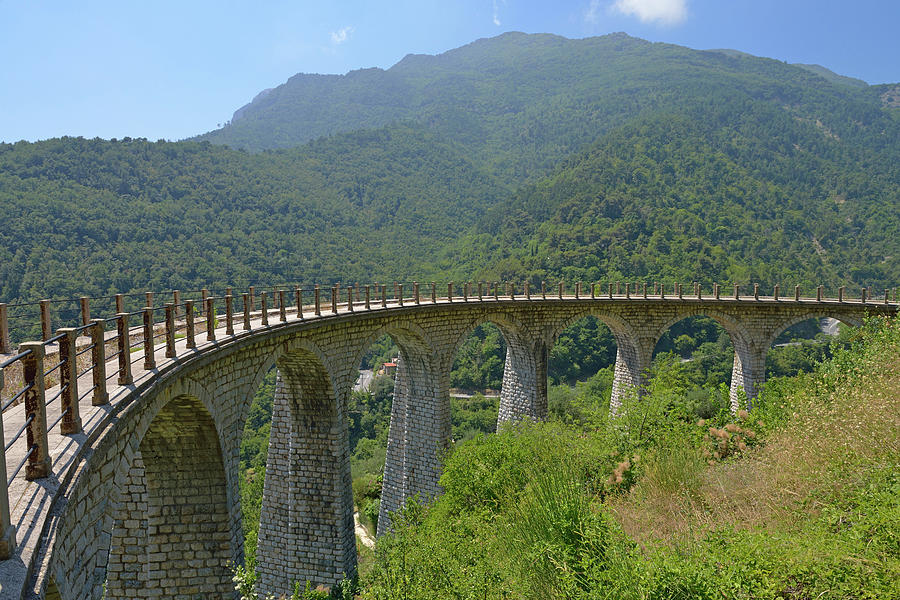 Viaduc Of Former Railways Line Photograph by Sami Sarkis