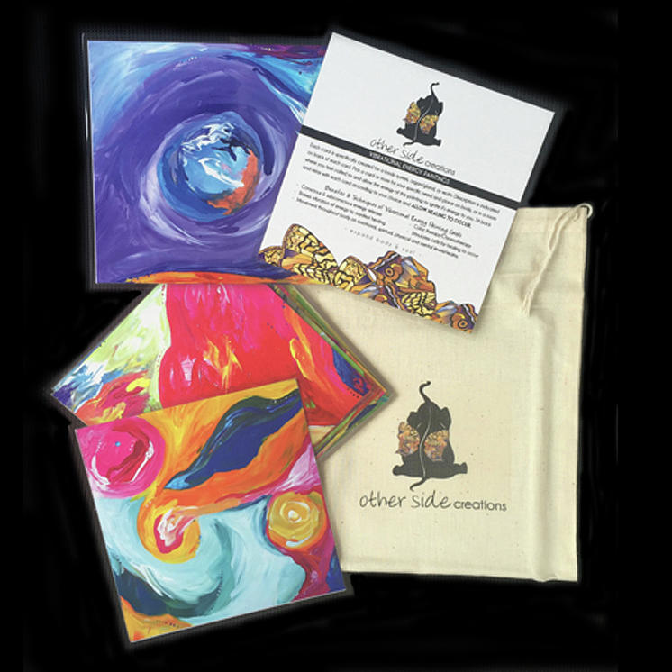 Vibrational Energy Cards by Sara Ann Zimmerman