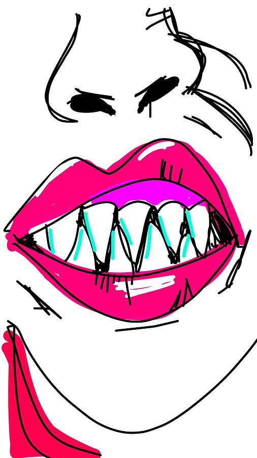 Vicious Digital Art by Madeline Dillner