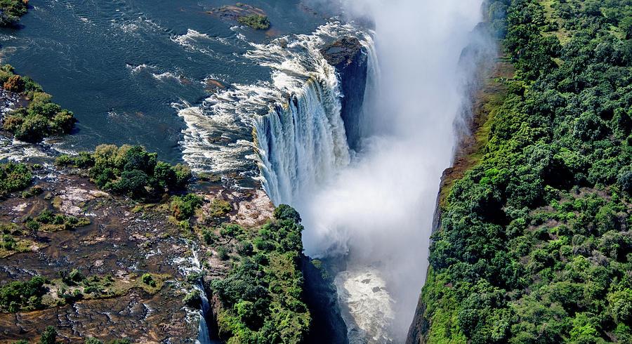Victoria Falls, Natural Wonder Photograph