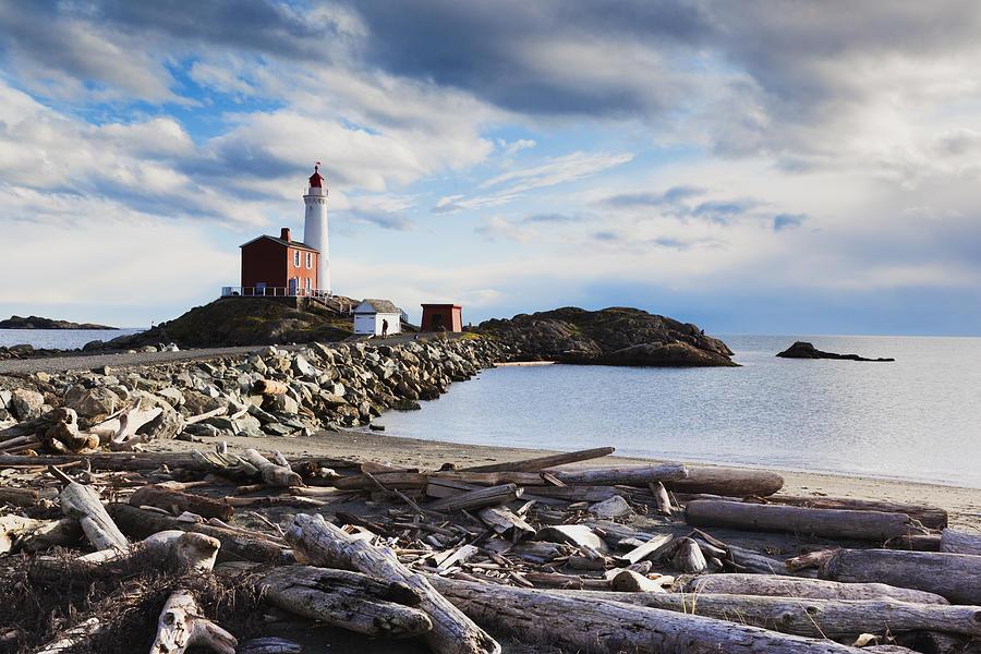 Victoria, Fisgard Lighthouse Photograph by Walter Bibikow