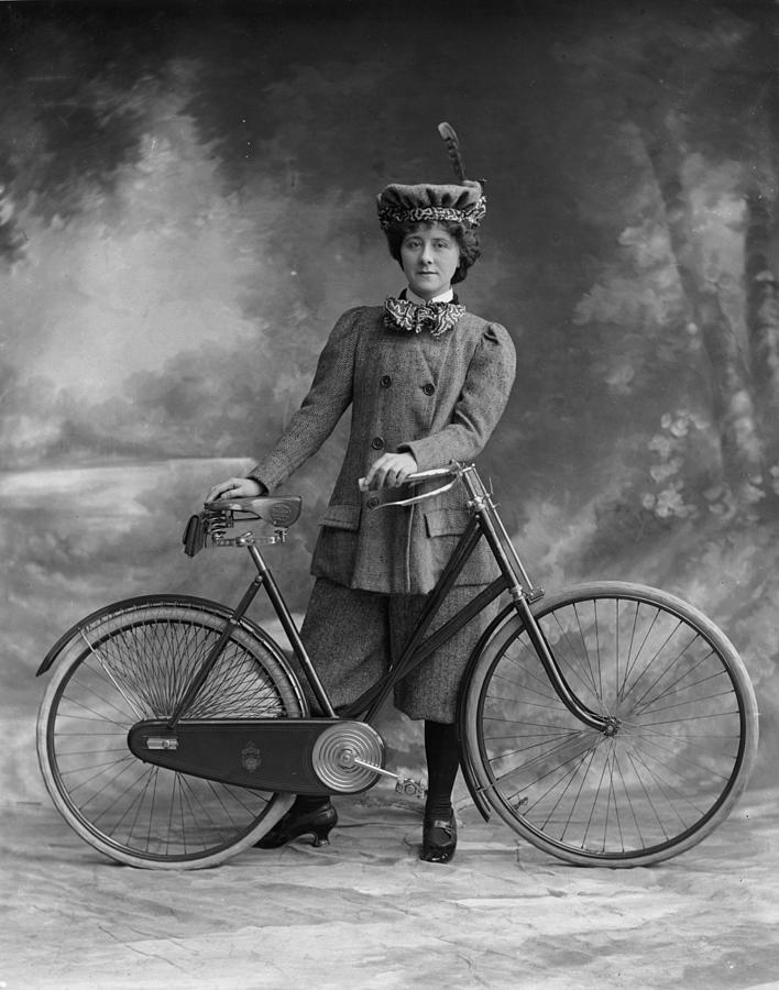 Victorian Cyclist Photograph by London Stereoscopic Company