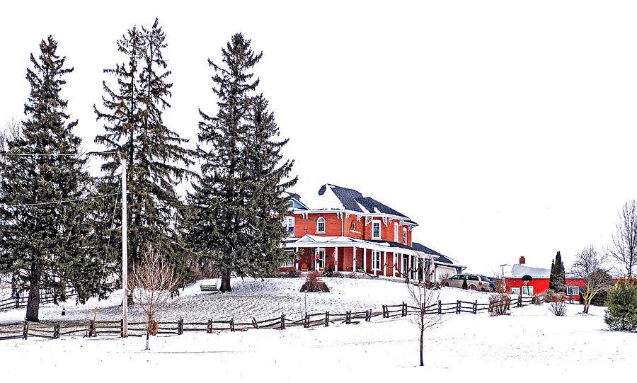 Victorian Farmhouse 2 Photograph