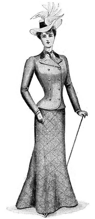 Victorian Fashion Digital Art by Duncan1890
