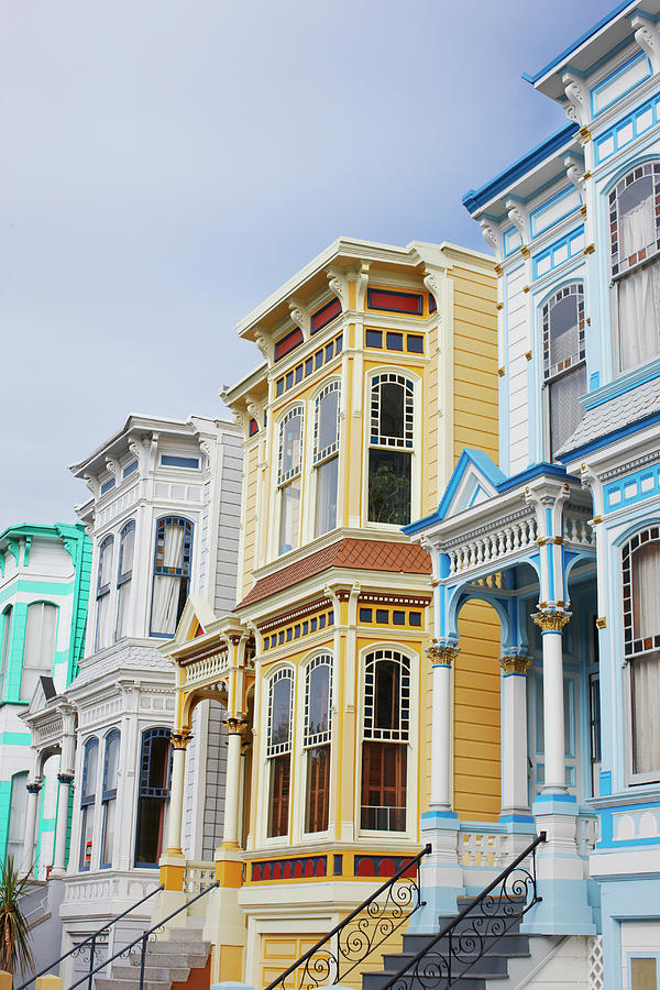 Victorian Home San Francisco Photograph by Nash Photos