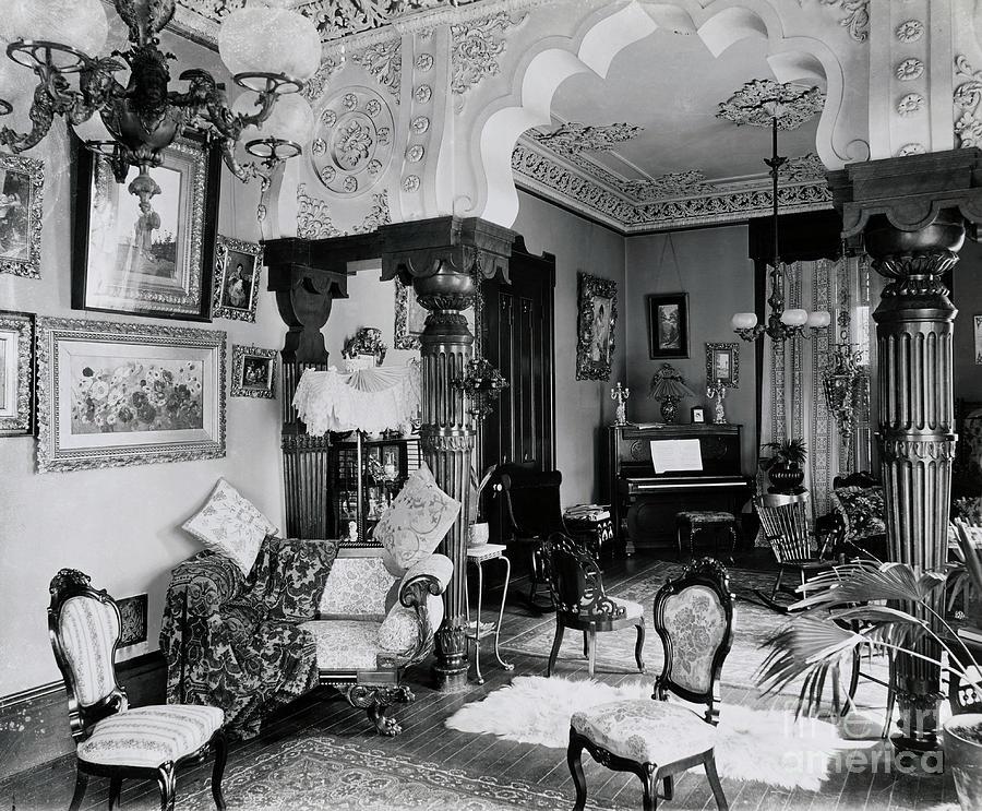 Victorian Interior Photograph by Bettmann