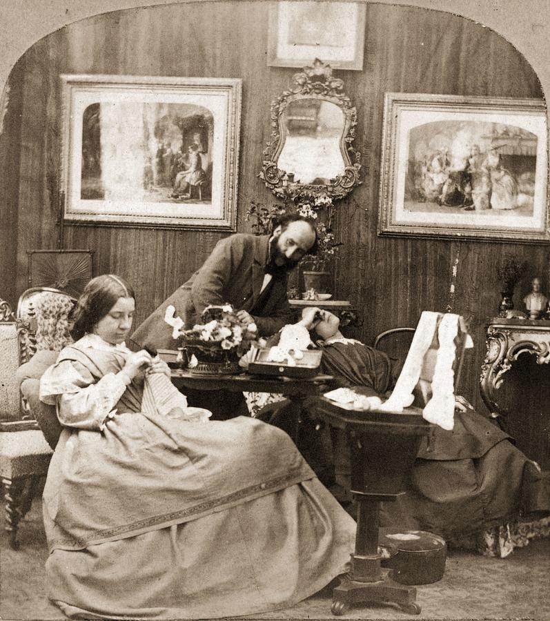 Victorian Life Photograph by Otto Herschan Collection
