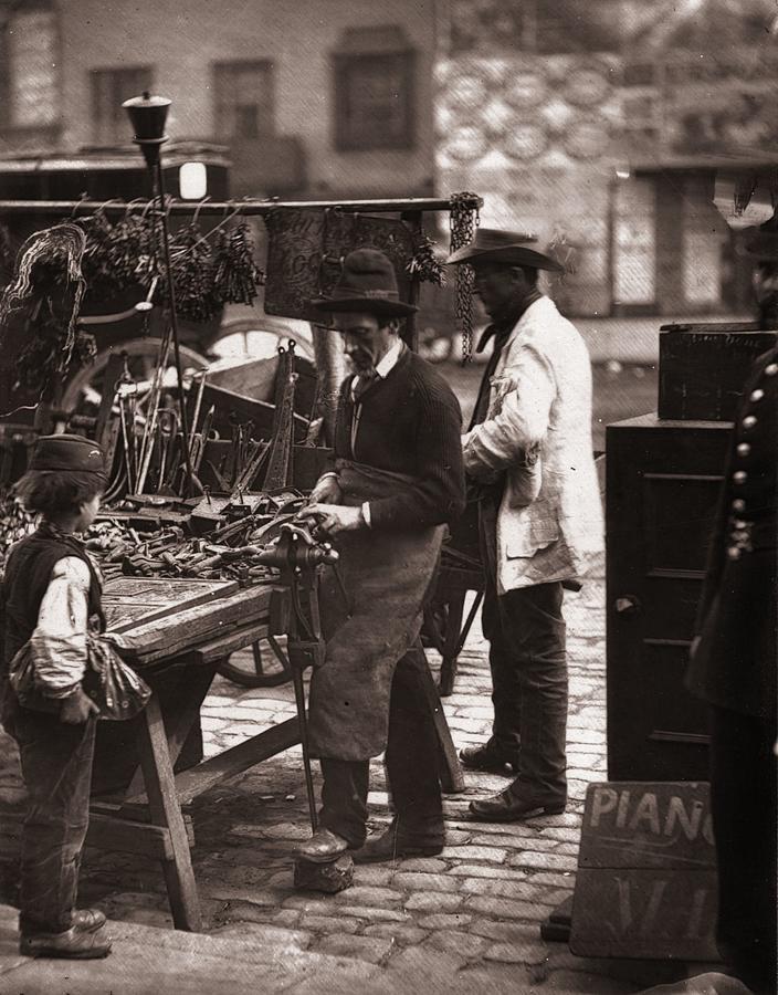 Victorian Locksmith Photograph by John Thomson