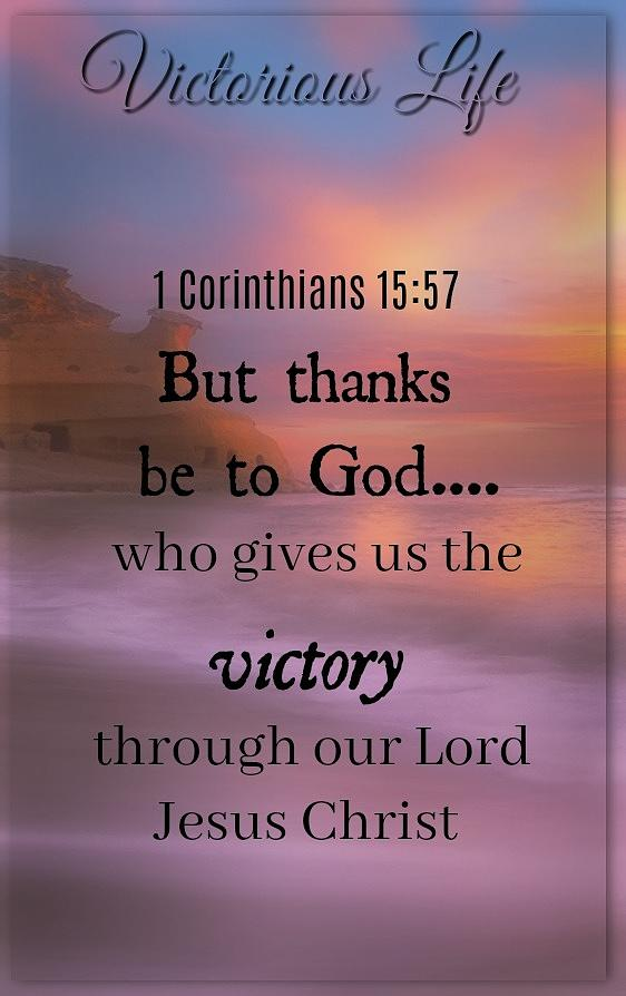 Victorious Verses 1 15 57 Photograph by David Norman