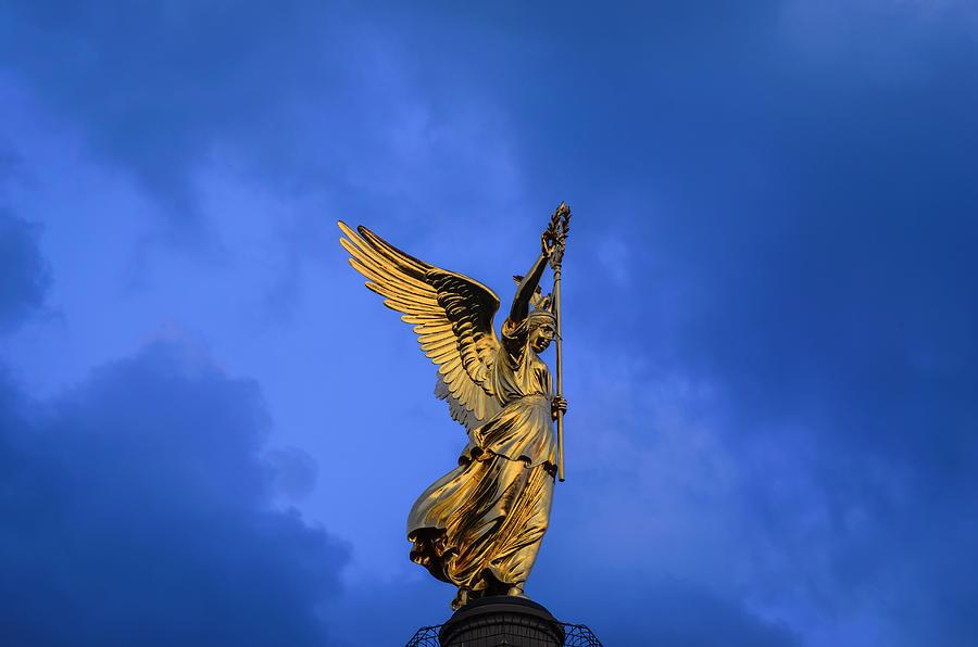 Victory Column Siegessaeule Photograph by Ingo Jezierski