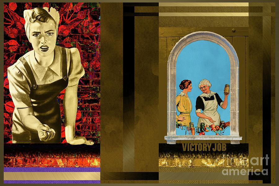 Propoganda Digital Art - Victory Job by John Groves