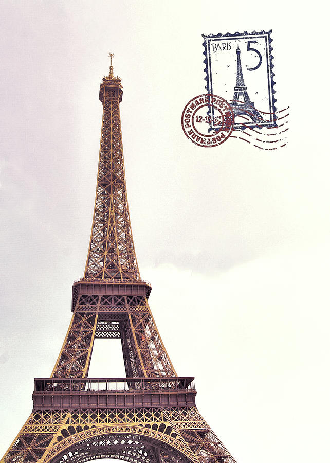 VIEILLE DAME DE PARIS stamped by Jamart Photography