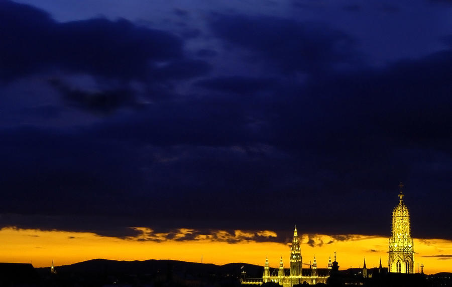 Vienna - When The Day Meets The Night Photograph