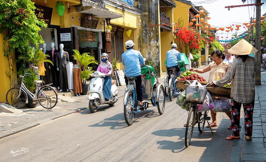 Street Scene Photograph - Vietnam Street by Madeline Ellis