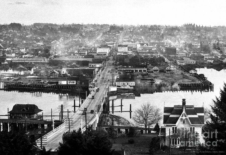 VIEW EAST OVER OLYMPIA 1921 by Merle Junk