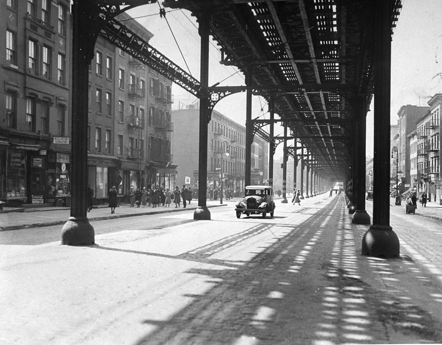 View From 38th St. And Second Ave Photograph by New York Daily News Archive