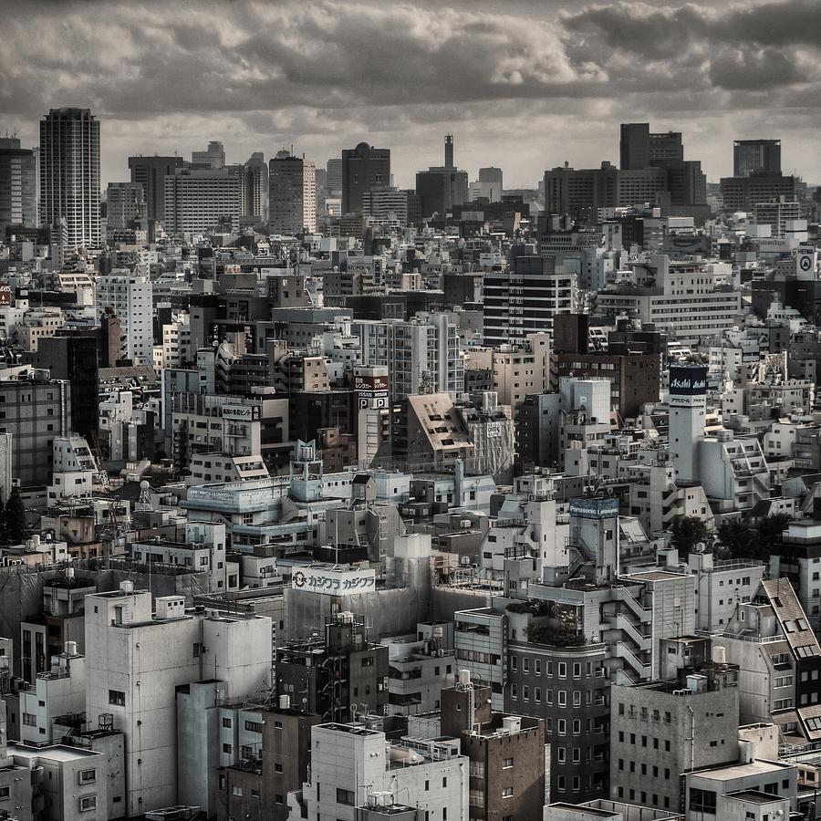 View From Asakusa, Tokyo Photograph by Chris Jongkind