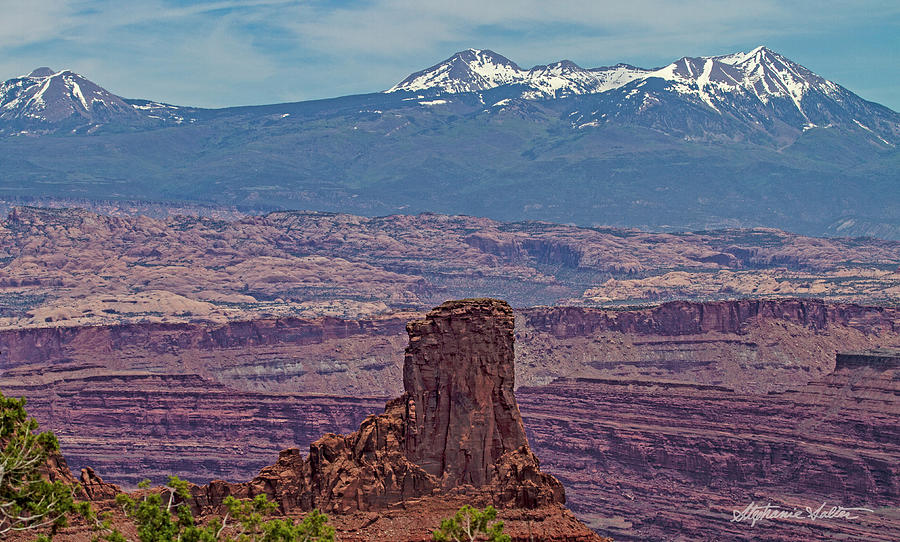 View from Dead Horse State Park, UT by Stephanie Salter