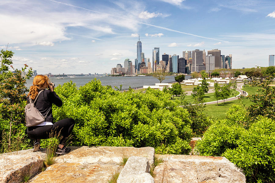 View from Governors Island by Fran Gallogly