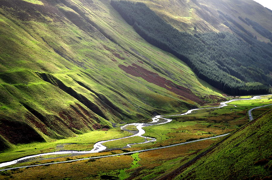 View From Grey Mares Tail Photograph by Roland Polyak