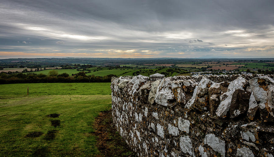 View from Hill of Slane, Co. Meath, Ireland by Susie Weaver