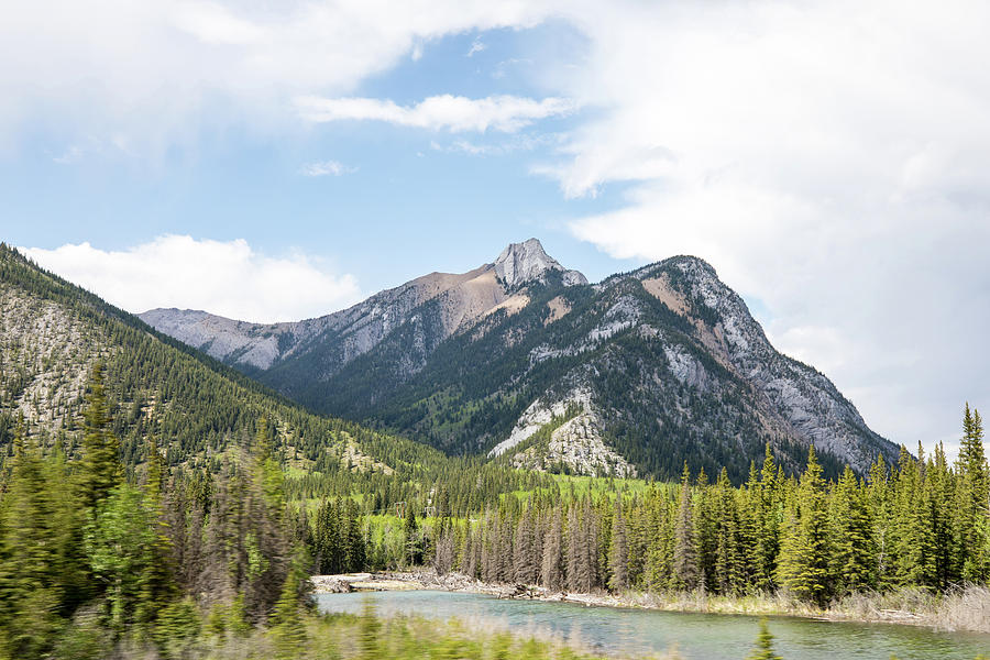 View from Kananaskis Trail by M C Hood
