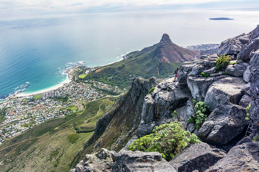 View from Table Mountain by Douglas Wielfaert