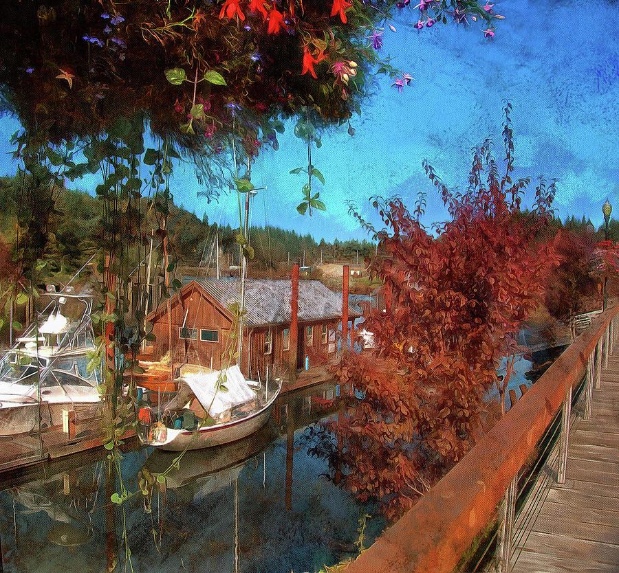 View From The Boardwalk by Thom Zehrfeld