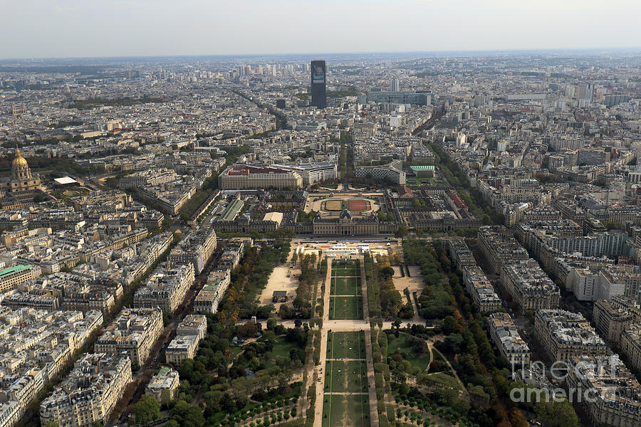 View from the Eiffel Tower by Steven Spak