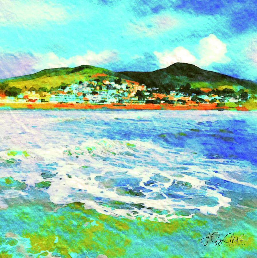 View from the Pier by Jo-Anne Gazo-McKim
