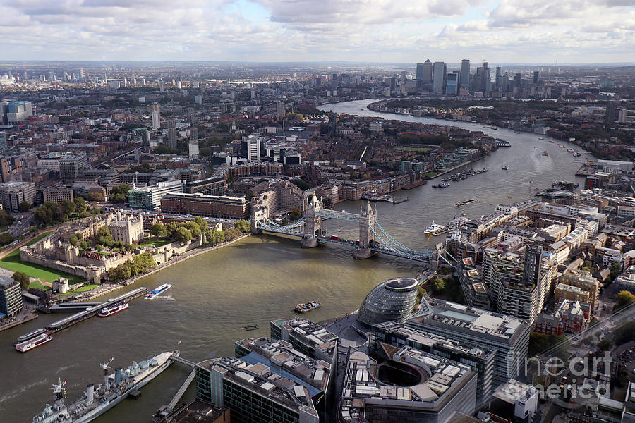 View from the Shard by Steven Spak