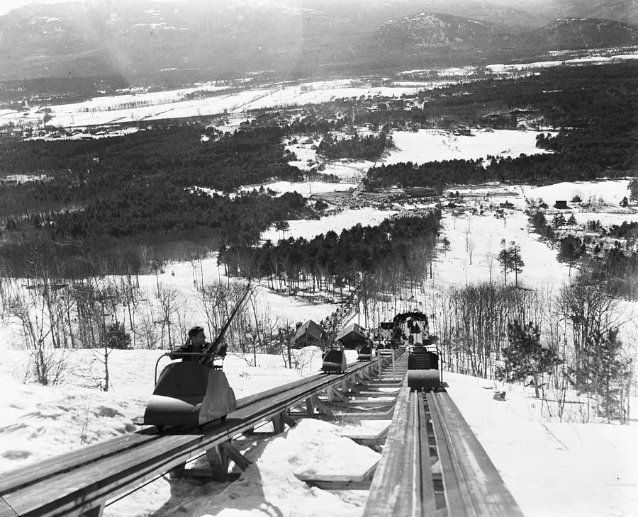 View From The Summit Of Cranmore Photograph by Bert Morgan