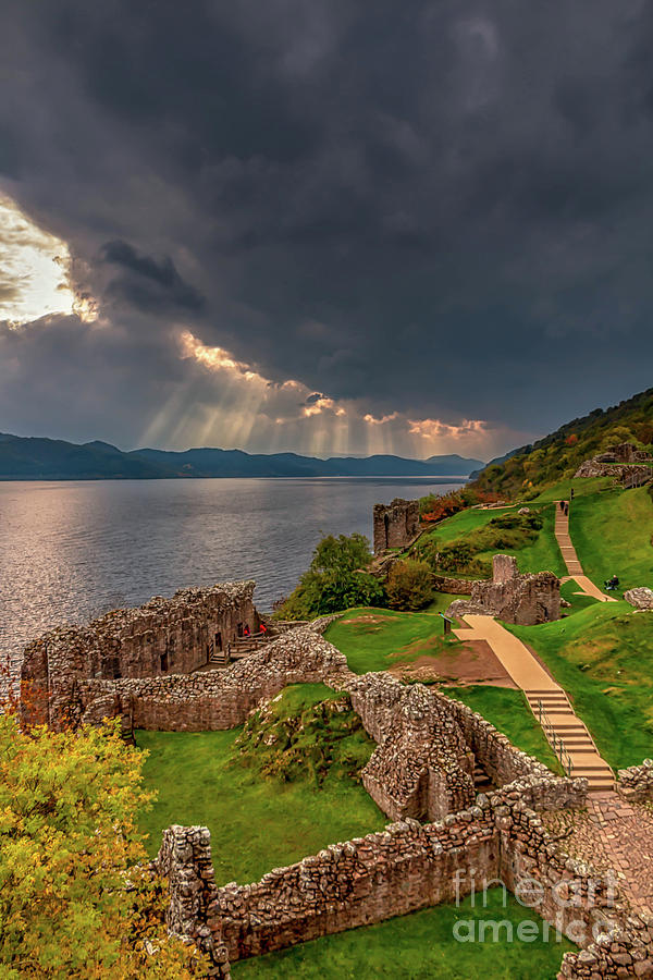 View From Urquhart Castle Photograph