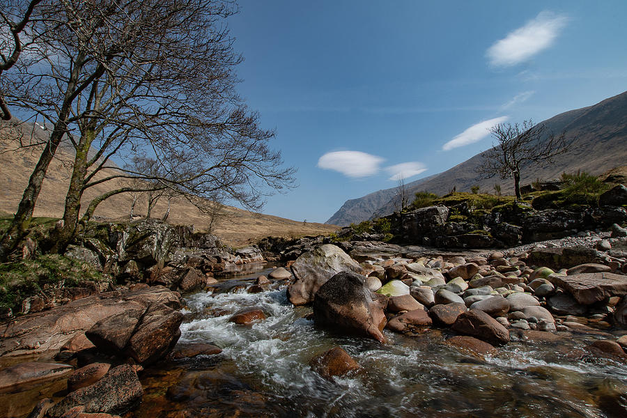 View In Glen Etive by Tracey Smith